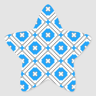 Bavaria Pattern Star Sticker