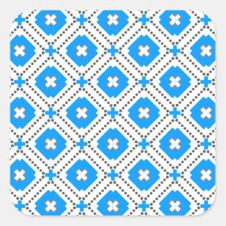Bavaria Pattern Square Sticker