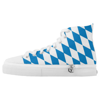 bavaria region flag germany land symbol High-Top sneakers