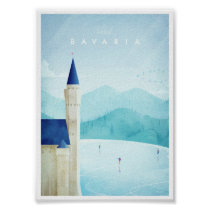 Bavaria Vintage Travel Poster