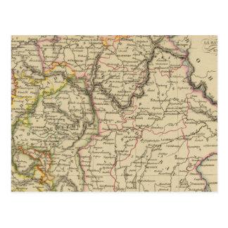 Bavaria, W�rttemberg and Baden Gr Postcard