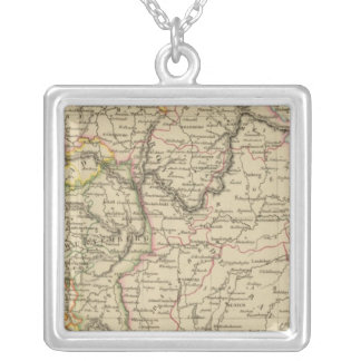 Bavaria, W�rttemberg and Baden Gr Silver Plated Necklace