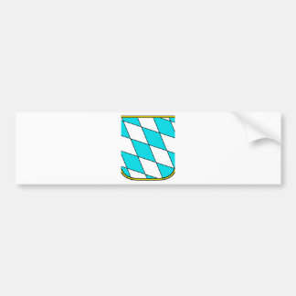 Bavaria Wappenzeichen Car Bumper Sticker