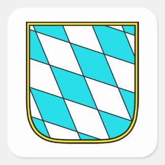 Bavaria Wappenzeichen Square Sticker