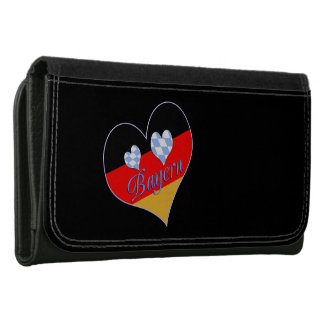 Bavaria with hearts wallet