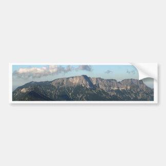 Bavarian Alps near Berchtesgaden Bumper Sticker