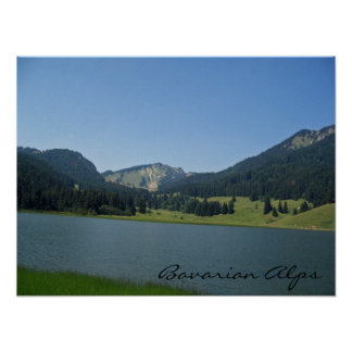 Bavarian Alps Print