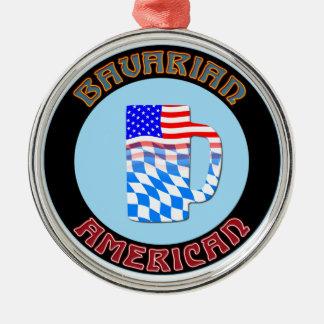 Bavarian American Stein Ornament