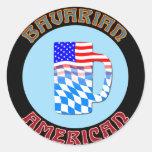 Bavarian American Stein Stickers