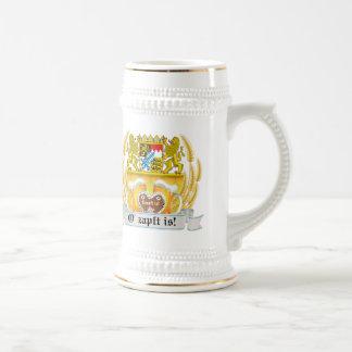 Bavarian Arms and Beer Oktoberfest Stein