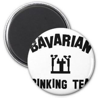bavarian bayern drinking team 2 inch round magnet