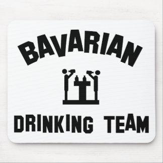 bavarian bayern drinking team mouse pad