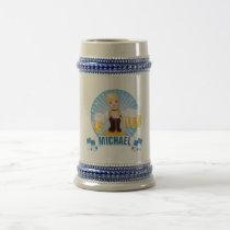 Bavarian Beer Babe Stein