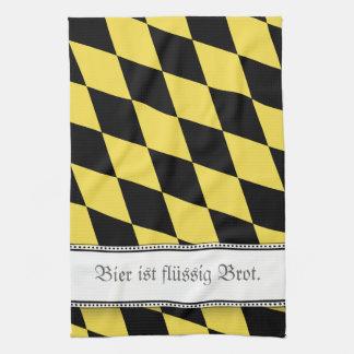 Bavarian Beer is great Kitchen Towel