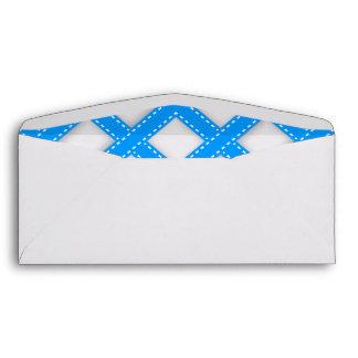 Bavarian blue envelopes