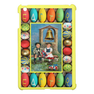 Bavarian children and eggs cover for the iPad mini