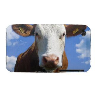 Bavarian cow against blue sky Case-Mate iPhone 3 case