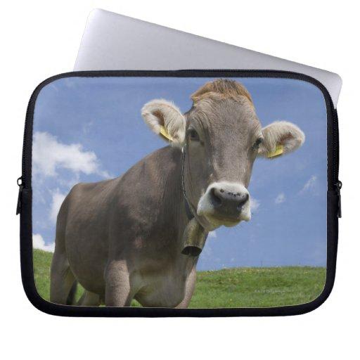 bavarian cow laptop computer sleeves