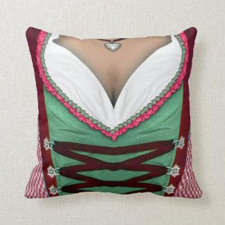 Bavarian Dirndl Pillow