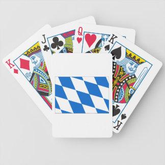 Bavarian flag Bavaria Bicycle Playing Cards