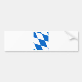 Bavarian flag Bavaria Bumper Sticker