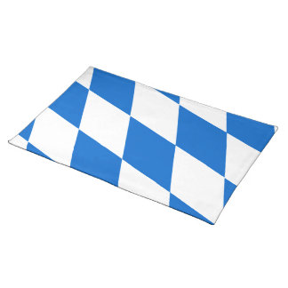 Bavarian flag Bavaria Cloth Placemat