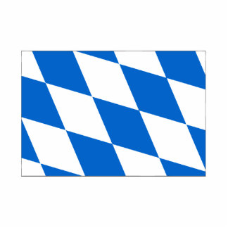Bavarian flag Bavaria Statuette