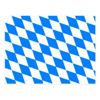 Bavarian Flag - Bayerische Flagge Postcard