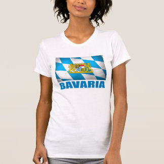 Bavarian Flag & Coat of Arms T Shirts