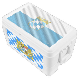 Bavarian flag cooler
