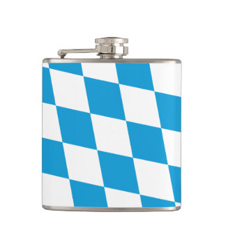Bavarian Flag | Oktoberfest Flask
