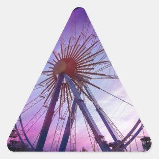 Bavarian folk festival triangle sticker