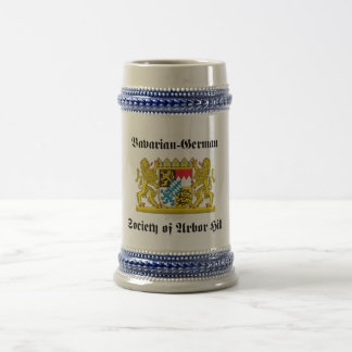 Bavarian-German Society of Arbor Hill Beer Stein