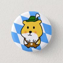 Bavarian Hamster Pinback Button