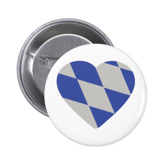bavarian heart icon pinback buttons