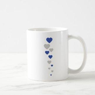 bavarian hearts icon coffee mug