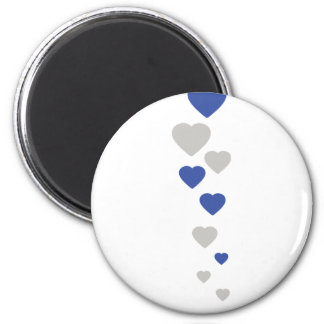bavarian hearts icon magnet