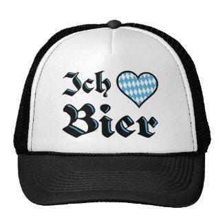 Bavarian I Love Beer Hat