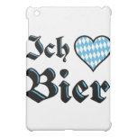 Bavarian I Love Beer iPad Case