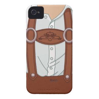 Bavarian Lederhose de Alemania iPhone 4 Case-Mate Cárcasa