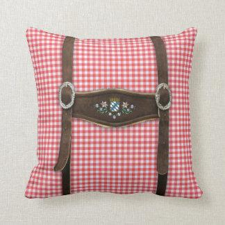 Bavarian Lederhosen Pillow