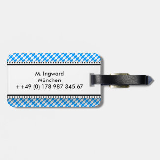 Bavarian lozenges bag tag