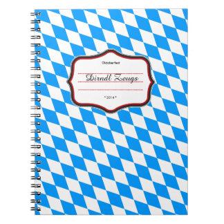Bavarian lozenges notebook
