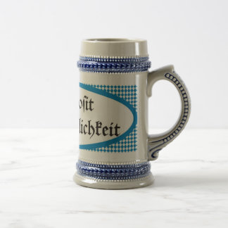 Bavarian more beer toast cosiness Prosit 18 Oz Beer Stein