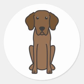 Bavarian Mountain Hound Dog Cartoon Classic Round Sticker