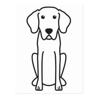 Bavarian Mountain Hound Dog Cartoon Postcard