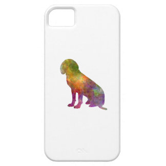 Bavarian Mountain Scenthound in watercolor iPhone SE/5/5s Case