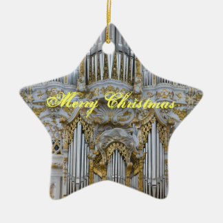 Bavarian organ Christmas ornament
