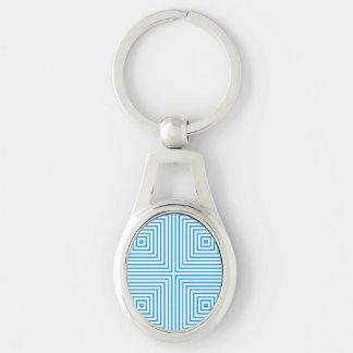 Bavarian Pattern Keychain