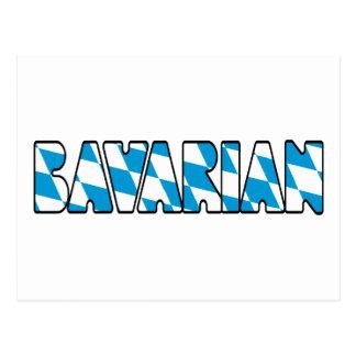 BAVARIAN POSTCARD